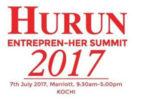 ഹുറൂൺ റിപ്പോർട്ട് : വനിതാ സംരംഭക സമ്മിറ്റ് കൊച്ചിയിൽ