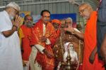 മധ്യപ്രദേശിലെ ശങ്കരാചാര്യരുടെ പ്രതിമ ; ജന്മദേശത്തു നിന്ന് മണ്ണും ലോഹവും ശേഖരിച്ചു