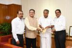 മുത്തൂറ്റ് ഗ്രൂപ്പ് ദുരിതാശ്വാസ നിധിയിലേക്ക് 1.5 കോടി രൂപ സംഭാവന ചെയ്തു