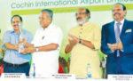 സിയാൽ മുഖ്യമന്ത്രിയുടെ ദുരിതാശ്വാസനിധിയിലേക്ക് 2.90 കോടി രൂപ നൽകി
