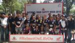 ഹോണ്ട ടു വീലേഴ്സ് ദേശീയ റോഡ് സുരക്ഷാ വാരം ആചരിച്ചു